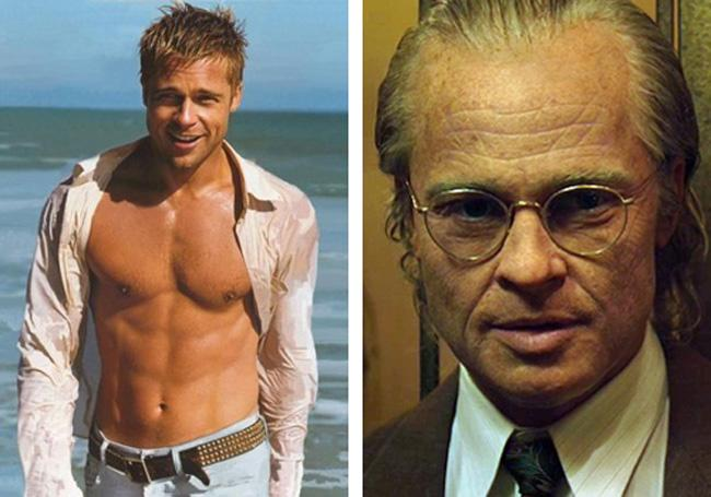Brad Pitt The Curious Case... Autors: dzelksnis Celebrity Movie Transformations