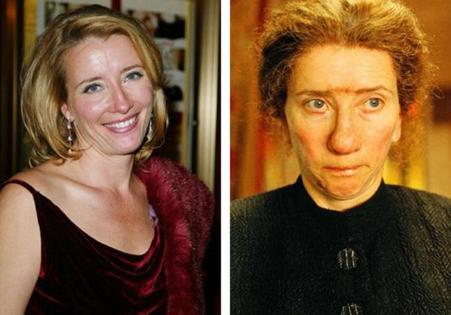 Emma Thompson Nanny McPhee Autors: dzelksnis Celebrity Movie Transformations
