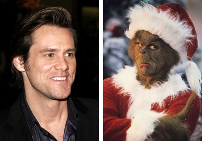 Jim Carrey The Grinch Who... Autors: dzelksnis Celebrity Movie Transformations
