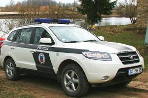 HyundainbspSanta FE Autors: artursk2008 Policijas pravietošanas līdzeklis Latvija!