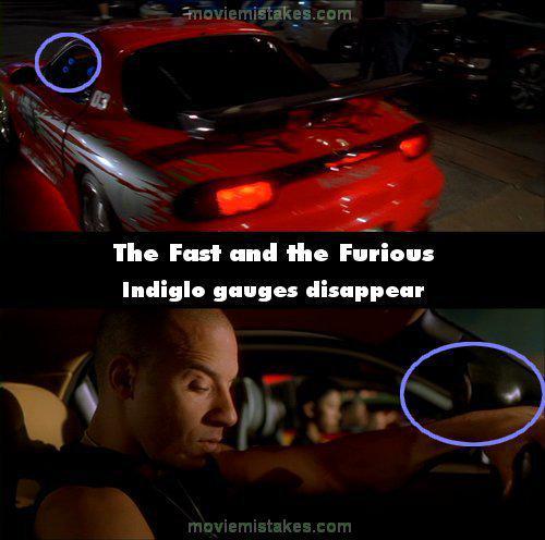 Rādītāji pēkscaronņi izgaist Autors: Senču Lācis Ātrs un Bez Žēlastības - Kļūdas (Fast & Furious)