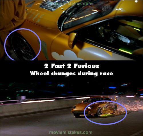 Riteņa dizains mainās... Autors: Senču Lācis Ātrs un Bez Žēlastības - Kļūdas (Fast & Furious)