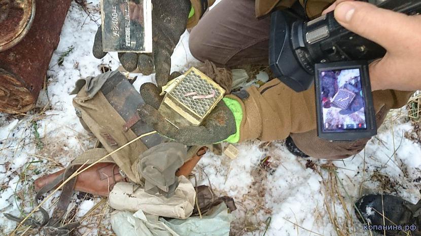 Detonatoru kastīte atverta... Autors: pyrathe Mežā atrasta slēptuve vācu diversantiem WW2