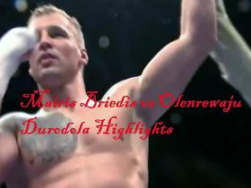 Mairis Briedis vs Olenrewaju Durodolu highlights