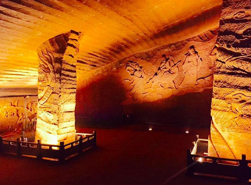 Longyou alasTās atrodas Ķīnā... Autors: Lestets Mistiskākie atradumi uz Zemes