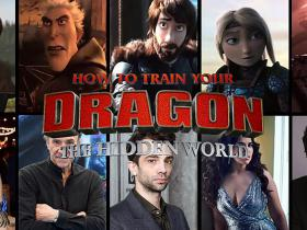 """How to Train Your Dragon 3"" - animācijas varoņu balsis dzīvē!"